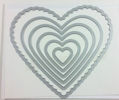 Stampin' Up! Framelits - Hearts Collection Die Cutting Sizzix