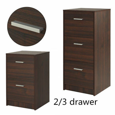 Wooden Furniture Home Office Filing Storage Cabinet Organizer Document Holder A4