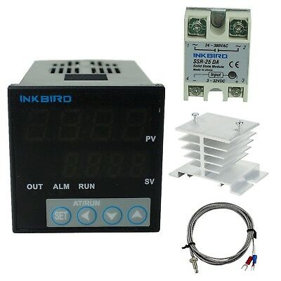 Inkbird °F and °C Display PID Stable Temperature Controller ITC-106VH (IT... New