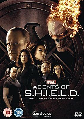 Marvels Agents Of SHIELD  S4 DVD [2018]