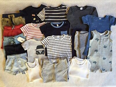 Country Road, Bonds, Seed, Dymples, Target Boy's Bundle Size 12-18 Months