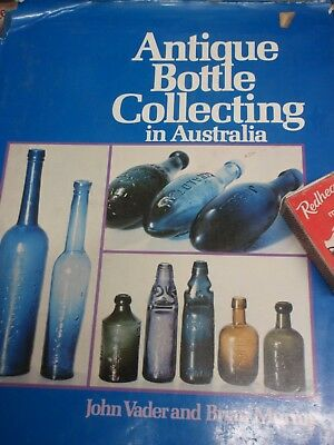 BOTTLE COLLECTING IN AUSTRALIA illustrated 1975  VADER & MURRAY