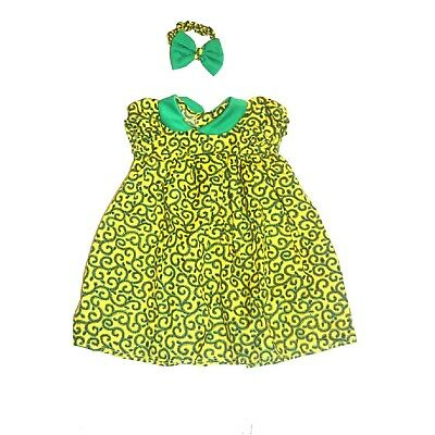 New African Kids Wear Baby Girl Ankara dress Size 0-12months
