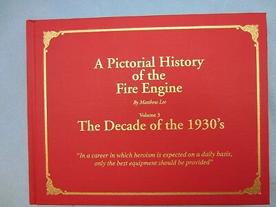 Fire Engine 1930s Ahrens-Fox, Seagrave, Mack, American-LaFrance, Others, Photos