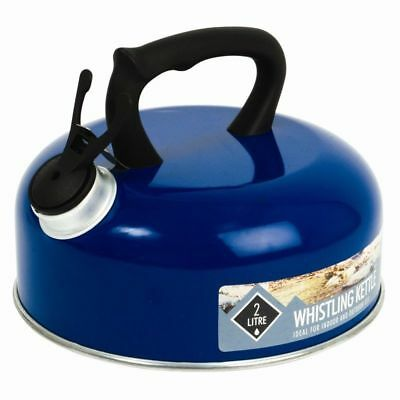 2L Litre Whistling Kettle camping, fishing, hiking, and other outdoor activities