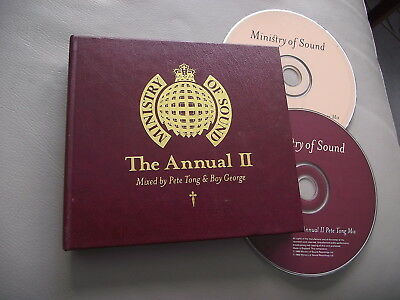 Ministry Of Sound The Annual 2 Ii Leather Look Digipak 2 Cd Pete Tong Boy George