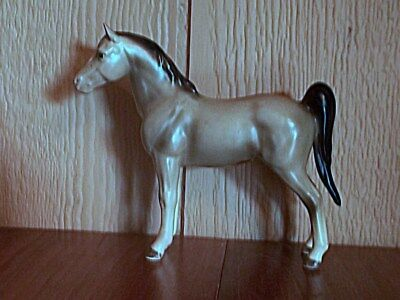 "Vintage Lefton Porcelain Saddle Horse Figurine, Japan, 4.5"" Tall"