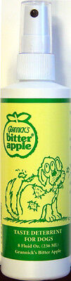 Grannicks Bitter Apple Taste Deterrent Original Pump Spray For Dogs - 236 ml