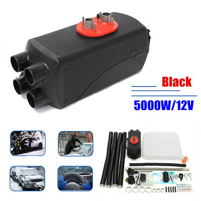 12V 5000W Air diesel Fuel Heater  LCD Monitor For Trucks Boats Bus Car 5KW US