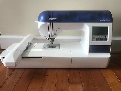 Brother Designio DZ820E Emboidery Machine with Accessories - Used Very Few Time