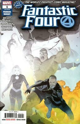 FANTASTIC FOUR #1 RIBIC PREMIERE VARIANT (2 PER STORE VARIANT) Bagged & Boarded