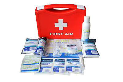 Compact Burns Emergency First Aid Kit (QF3001) In Box Home / Office / Kitchen