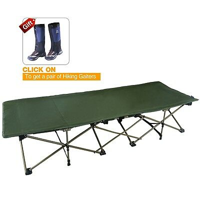 REDCAMP XL Camping Cot for Adults, Oversize and Comfortable Easy Portable Wide