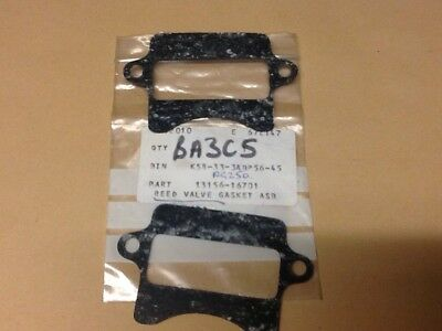 NOS SUZUKI PARTS Genuine Rg250 Ts125X Reed Valve Gaskets