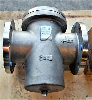 """Sureflow 6"""" 150# Stainless Steel Flanged Strainer Bf150Ss J"""