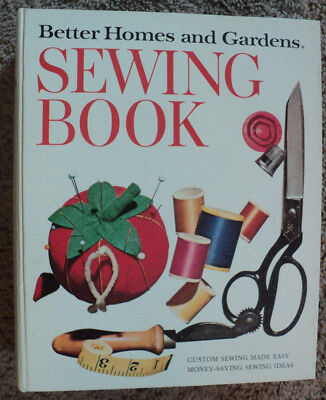 Vintage Better Homes and Gardens Sewing Book 1970 Second Edition Ring Bound