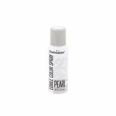NEW ChefMaster Edible Food Spray Pearl 42g