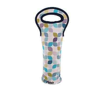 NEW Go Vino Single Bottle Bag Neo Leaf
