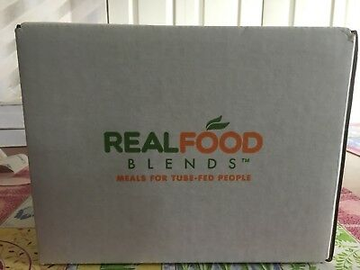 NEW FLAVOR Real Food Blends (Eggs, Apples & Oats) box of 12