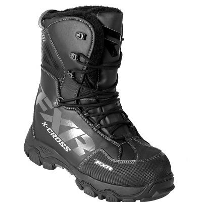 FXR Mens X-CROSS - BLACK OPS -  SNOW BOOTS - Size 9 - 10 - 11 - 12 - NEW