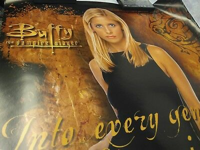 Vintage Original Buffy The Vampire Slayer And Angel Poster Lot 3 Mr Pointy Stake