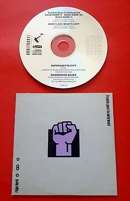 FRANKIE GOES TO HOLLYWOOD - RAGE HARD - RARE 4trk CD SINGLE - HOLLY JOHNSON