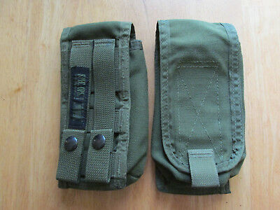 2, Spec.-Ops. Brand, 30 round ammo MOLLE pouches, OD green