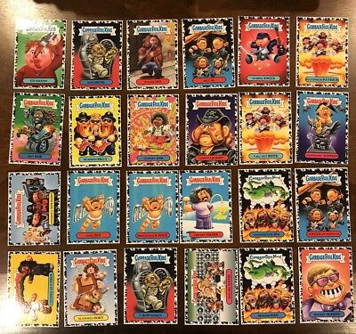 Garbage Pail Kids Battle Of The Bands Bruised Black Border 24 Card Lot