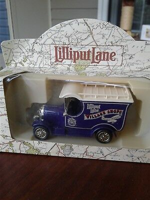 Lilliput Lane Village Shops Die Cast Penny Sweets Delivery Truck in box