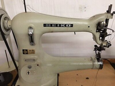 Cylinder Arm Sewing Machine (left handed) with Roller wheel foot for Shoe Making