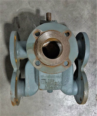 "Kraissl 6-Way Transfer Valve, 3"" Flanged, Cast Iron, 72-43AAFS"