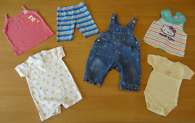 Lot de vêtements bébé fille - 9 MOIS - Hello Kitty, Boutchou