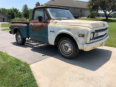 1969 Chevrolet C-10  1969 Chevy C-10 Short bed Step Side Truck