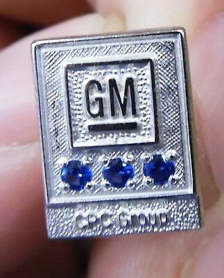 VTG GM General Motors CPC Group 1/10 10K White Gold Fill Service Pin