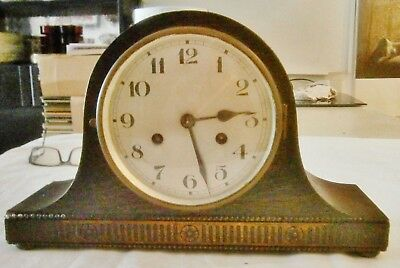 Napoleon Hat  mantle clock with Westminster Chimes, fully tested, working
