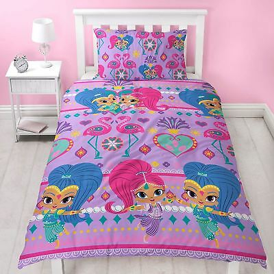 Shimmer and Shine 'Glow' Single Rotary Duvet Bedding Set