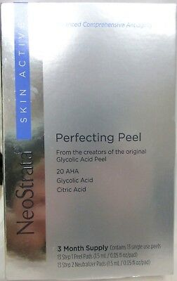 Neostrata Perfecting Glycolic Acid Peel, 13 Dual Treatments 3 Month Supply