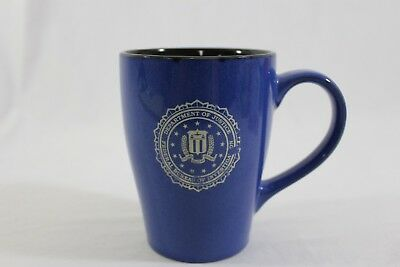 Dept. of Justice FBI TALL mug (wear as shown, one side)