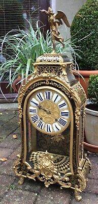 Huge 17th / 18th Century French Louis XIV Boulle Cartel Bracket Clock. Not fusee