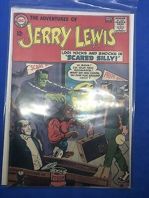 The Adventures of Jerry Lewis No. 83 August 1964 DC $0.12 Scared Silly! Scared S
