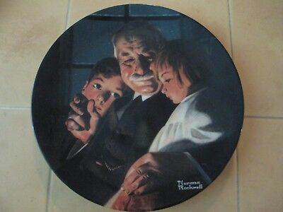 Norman Rockwell collector plates - $10 per plate or Best Offer.   33 plates