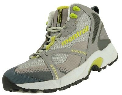 3ed6ccc7995 MONTRAIL HIKING TRAIL Boots Shoes Womens 6.5 Brown High Top Lace Up ...