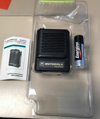 Motorola Keynote (Fire) VHF Voice Pager A03CJC7468AA NEW IN BOX