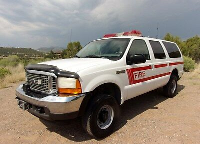 2001 Ford Excursion XLT 2001 Ford Excursion XLT 4WD Fire Response 12K Warn Winch V10 Make Offer