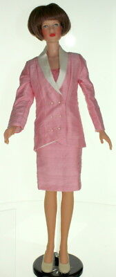 "Fits Robert Tonner American Model Doll 22"" Professionally Pink Suit Outfit 3 pc"