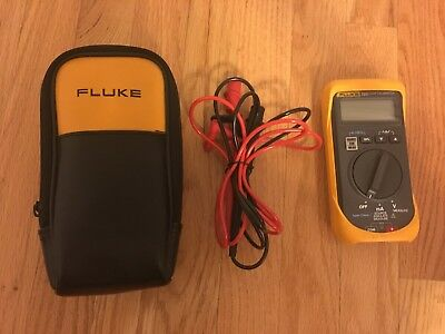 Fluke 705 Loop Calibrator Excellent Condition W/ Case Bag Fast Ship!