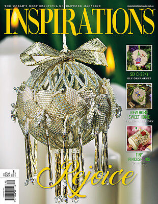 INSPIRATIONS MAGAZINE issue 92 The Worlds Most Beautiful Embroidery