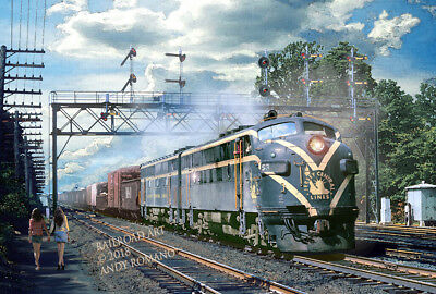 CNJ F3s AT CRANFORD, ART BY ANDY ROMANO LIMITED 1st EDITION R15-222