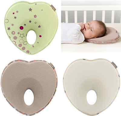Infant Head Shaping Memory Foam Pillow Positioner Prevent Flat Head Anti Roll
