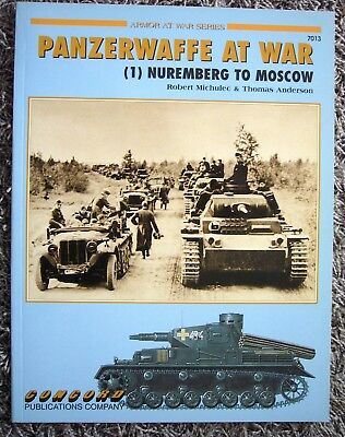 Concord Publications Panzerwaffe at War (1) Nuremberg to Moscow  Nr 7013